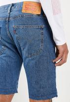 Levi's® - 501 original cutoff short pulaski short - blue
