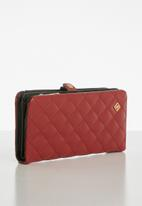 Call It Spring - Brassey wallet - red