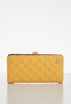 Call It Spring - Brassey wallet - yellow