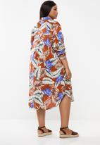 Superbalist - Soft shirt dress - multi