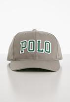 POLO - Junior Polo flex fit cap - green & grey