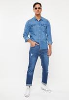 Levi's® - Classic western denim hakai - blue