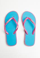 POLO - Girls emily flip flops - pink & blue