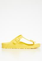 Birkenstock - Gizeh eva wider fit - yellow
