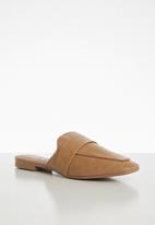 Cotton On - Aish loafer mule - tan