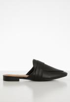 Cotton On - Aish loafer mule - black
