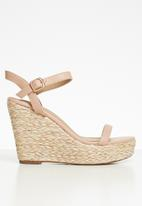 Superbalist - Liya espadrille wedge - neutral