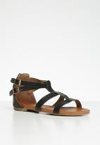 edit - Dina gladiator sandal - black