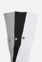 Stance Socks - Icon 3 pack sock - multi