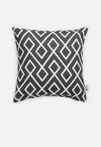 Sixth Floor - Gem cushion cover - black