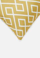 Sixth Floor - Gem cushion cover - sulphur