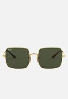 Ray-Ban - Square green 54 - gold