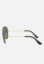 Ray-Ban - Aviator craft sunglasses 58mm - gold