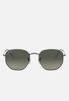 Ray-Ban - Hexagonal sunglasses 51mm - grey