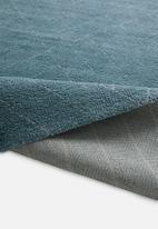 Sixth Floor - Chill rug - blue linear