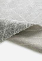 Sixth Floor - Chill rug - light grey linear