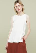 Superbalist - Relaxed vest - white