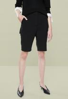 Superbalist - Ladies formal walk shorts - black