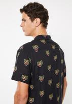 Brave Soul - Malayan short sleeve shirt - black