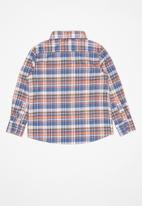 POLO - Boys connor long sleeve shirt - orange