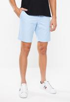 Tommy Hilfiger - Brooklyn twill shorts - blue
