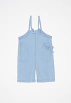 POP CANDY - Kids denim dungaree - blue