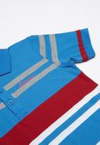 SOVIET - Boys y/dye golfer - multi