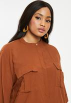 Superbalist - Utility blouse - rust
