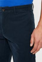 Tommy Hilfiger - Stretch cotton twill shorts - navy