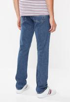 Tommy Hilfiger - Regular mercer straight leg jeans - blue