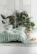 Linen House - Somers bed cover - mint