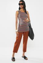 Superbalist - 2 Pack vest - grey & orange