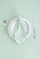 Hertex Fabrics - Seek napkin set of 2 - sky (40x40)
