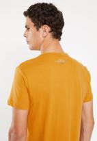Rip Curl - Palm tubes short sleeve tee - yellow