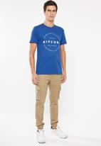 Rip Curl - Mission short sleeve tee - blue