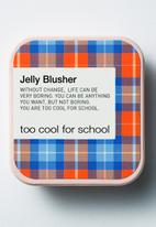 Too Cool For School - Check jelly blusher #5 Apple Red