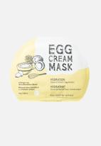 Too Cool For School - Egg Cream Mask - Hydration Set