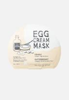 Too Cool For School - Egg cream mask firming set