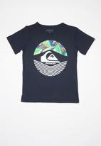 Quiksilver - Stomped on short sleeve T-shirt - navy
