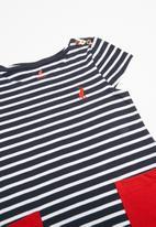 POLO - Girls sophia striped dress - multi