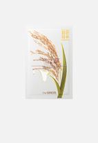 the SAEM - Natural rice mask sheet