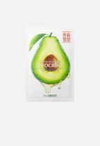 the SAEM - Natural avocado mask sheet