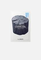 the SAEM - Natural charcoal mask sheet