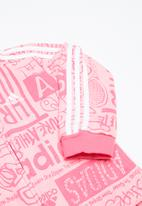 adidas Originals - I graph fz hd- pink & white