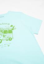 Billabong  - Youth short sleeve tee - blue