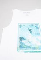 Billabong  - Above singlet - white