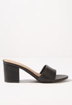 Cotton On - Claudia heel - black
