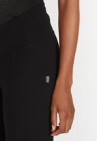 Cherry Melon - Maternity Leggings Full Length - Black