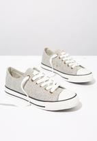 Cotton On - Woven low rise sneakers - grey