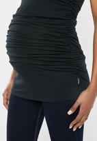 Cherry Melon - Maternity Every day tank top - black